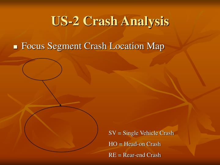 US-2 Crash Analysis