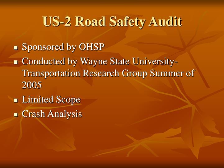 US-2 Road Safety Audit