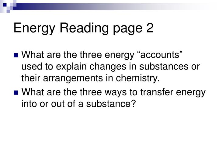 Energy Reading page 2