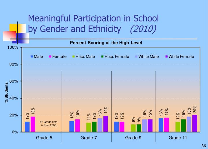 Meaningful Participation in School
