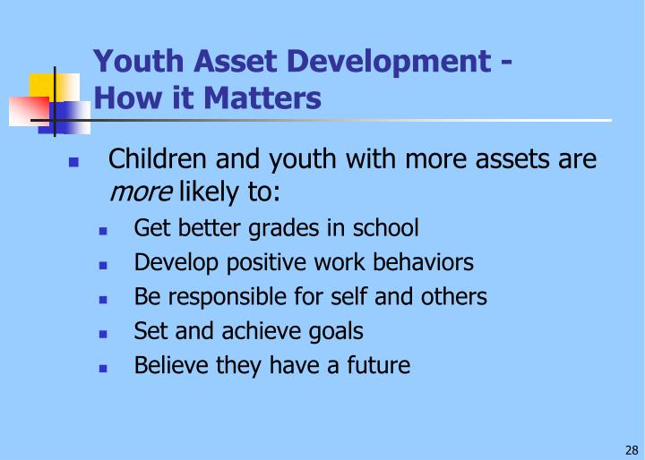 Youth Asset Development -