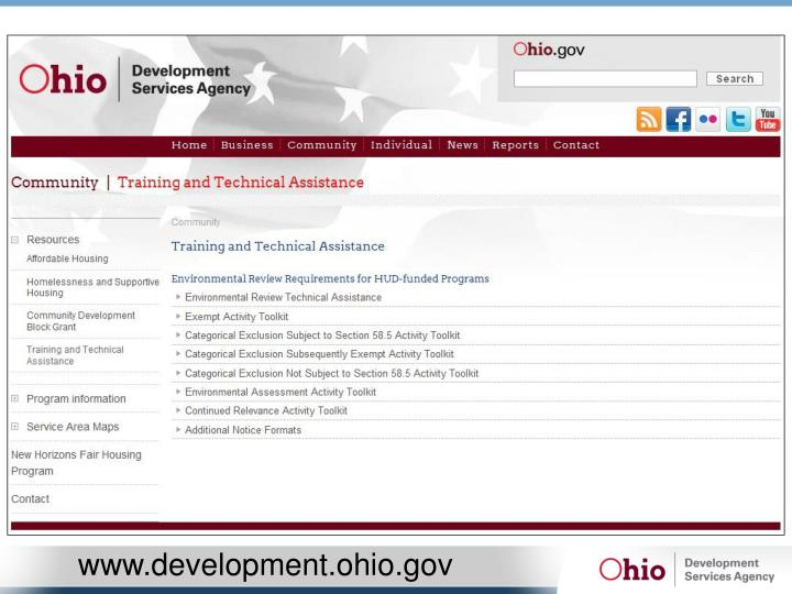 www.development.ohio.gov