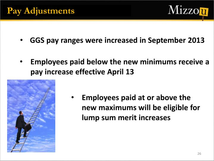Pay Adjustments