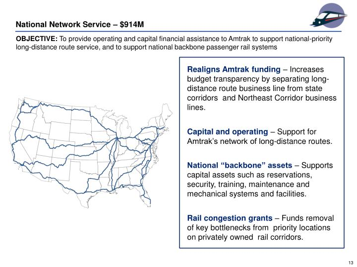 National Network Service – $914M