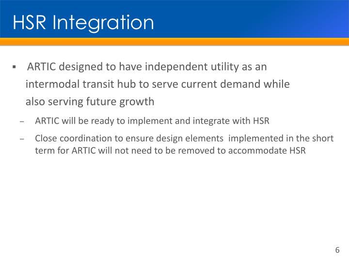 HSR Integration