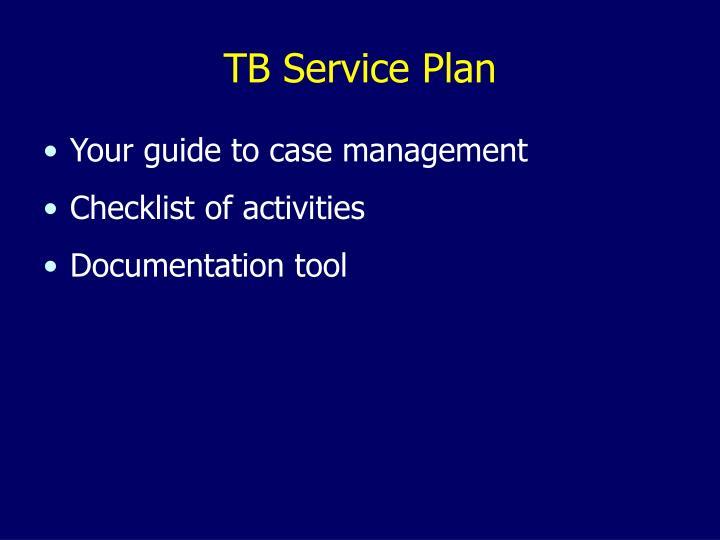 TB Service Plan