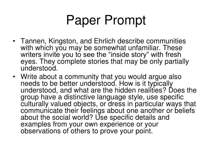 Paper Prompt