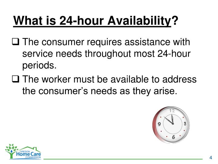 What is 24-hour Availability
