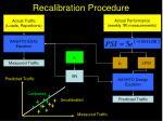 recalibration procedure