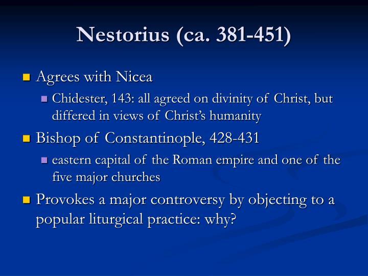 Nestorius (ca. 381-451)