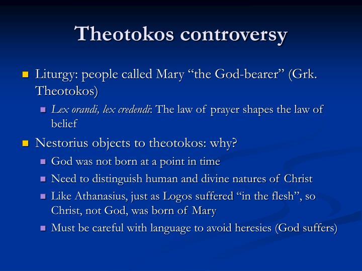 Theotokos controversy