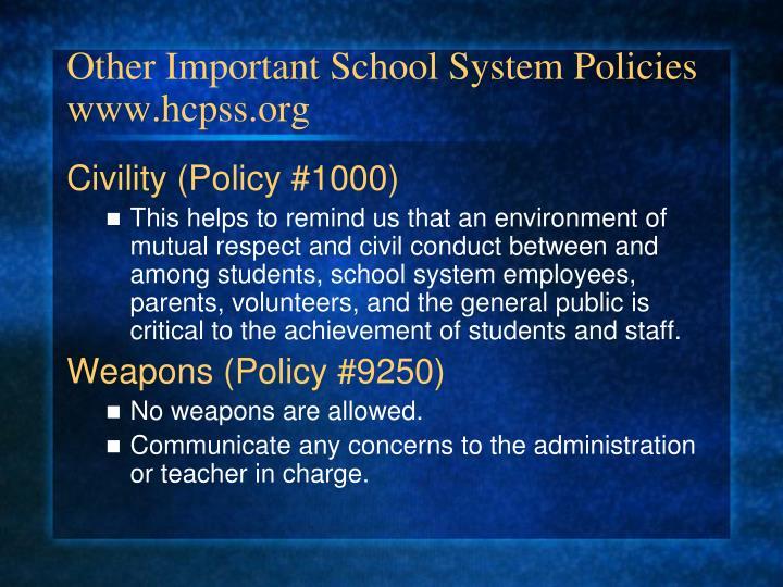 Employment  HCPSS