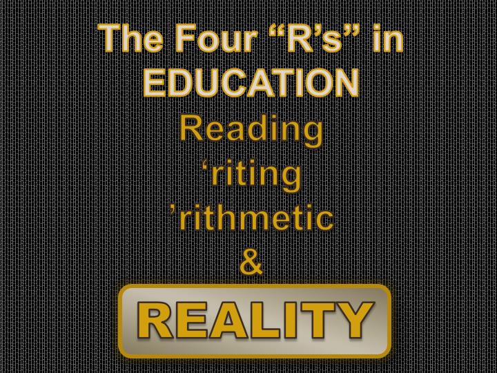 "The Four ""R's"" in"