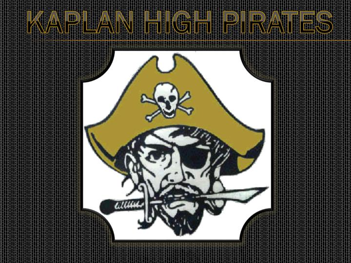 KAPLAN HIGH PIRATES