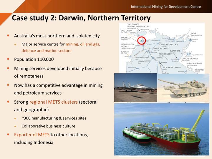 Case study 2: Darwin, Northern Territory