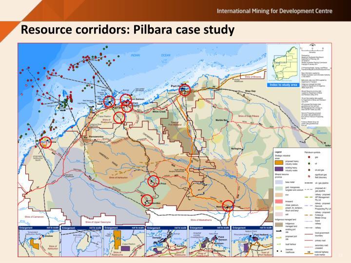 Resource corridors: Pilbara