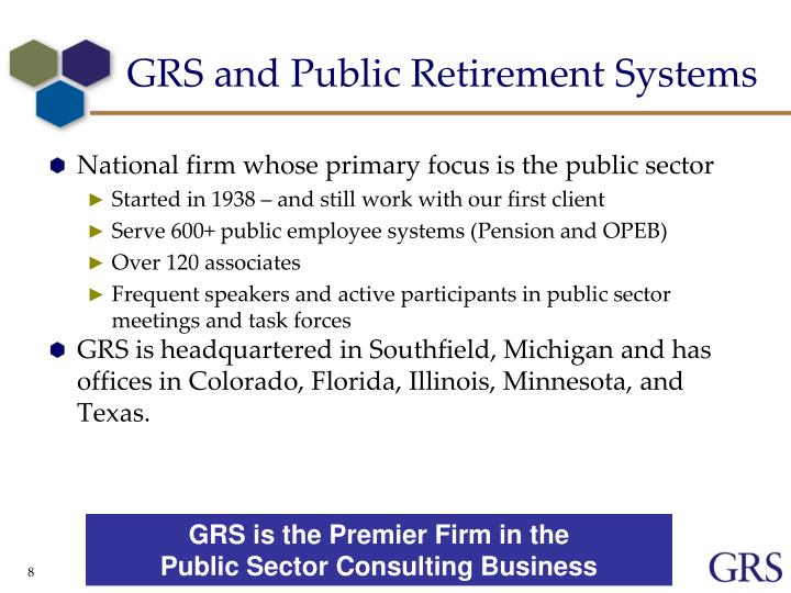 GRS and Public Retirement Systems
