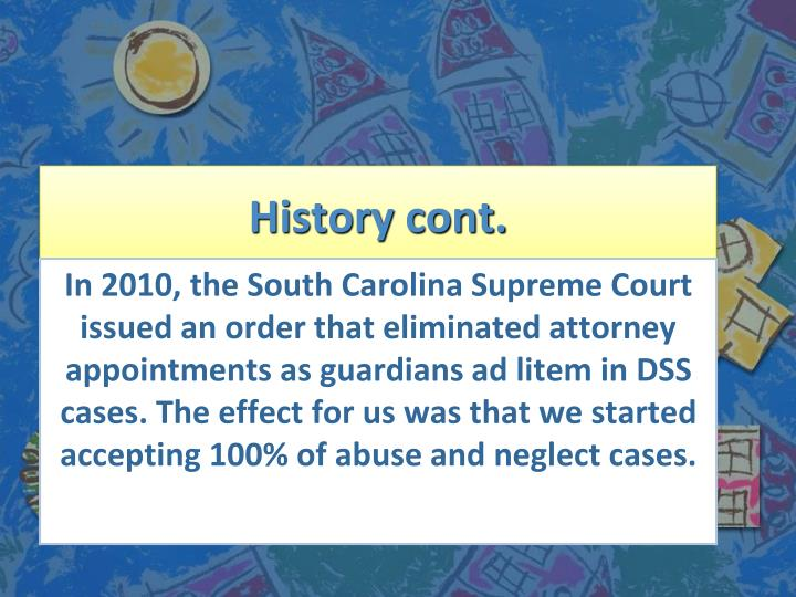 an analysis of the guardian ad litem program Guardian ad litem [ad lī′təm] etymology: l, ad litem, to litigate (in law) a person who is appointed by a court to prosecute or defend a suit for an infant or an incapacitated person a guardian ad litem is sometimes appointed when a person's life is in imminent danger and that person refuses treatment (1) a person authorised under applicable state.