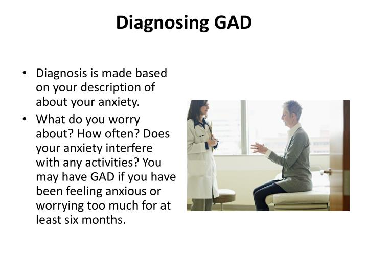Diagnosing GAD