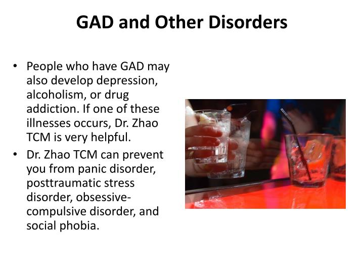 GAD and Other Disorders