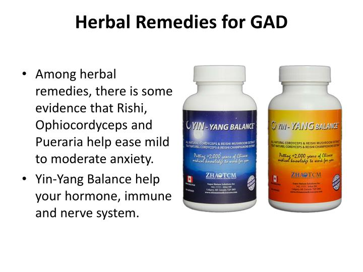Herbal Remedies for GAD