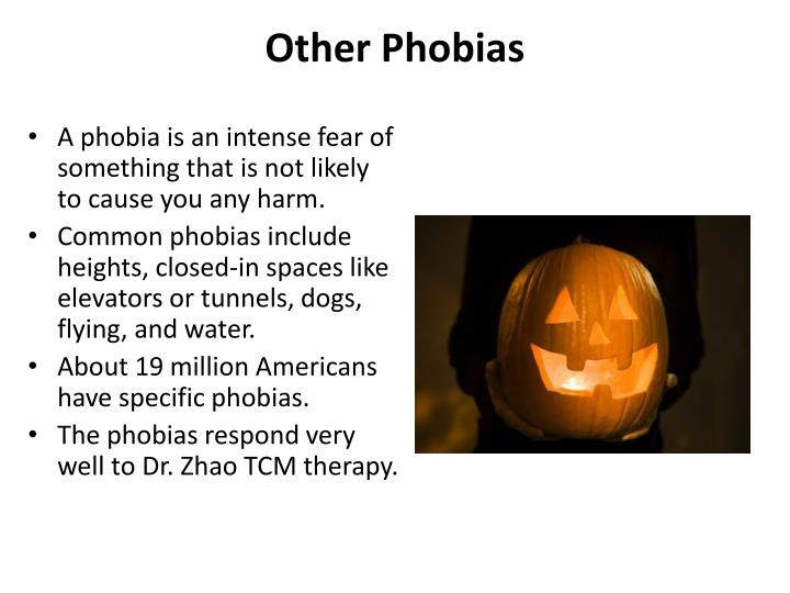 Other Phobias