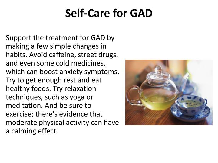 Self-Care for GAD