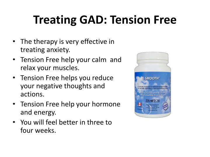 Treating GAD: Tension Free
