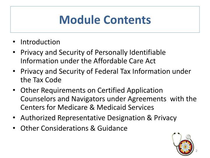 Module Contents