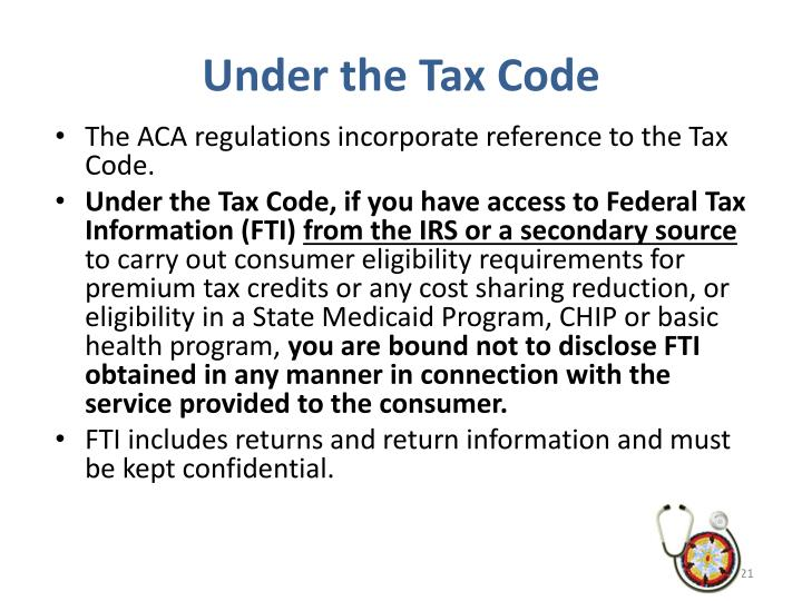 Under the Tax Code