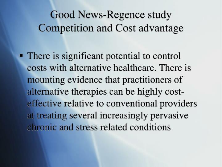 Good News-Regence study
