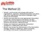 the method 2