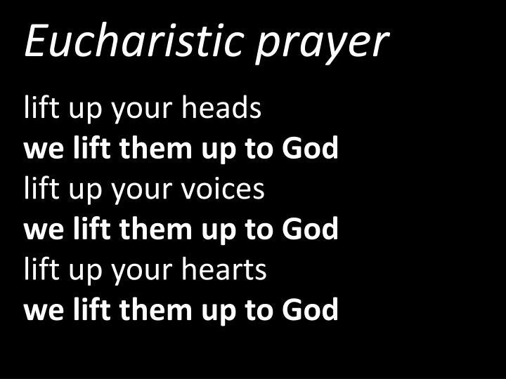 Eucharistic prayer