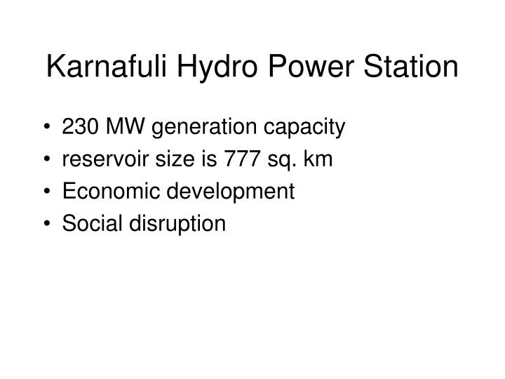 Karnafuli Hydro Power Station