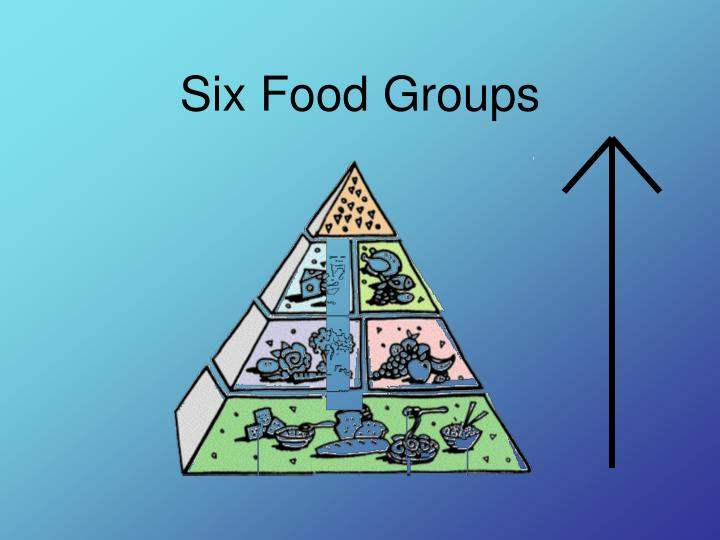 Six Food Groups