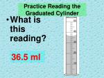 practice reading the graduated cylinder1