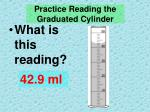 practice reading the graduated cylinder2