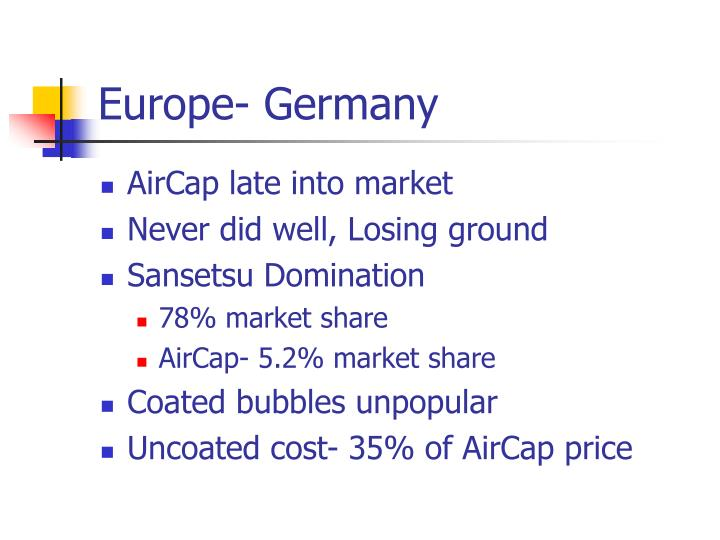 Europe- Germany