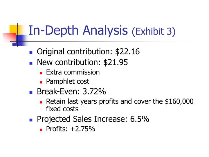 In-Depth Analysis