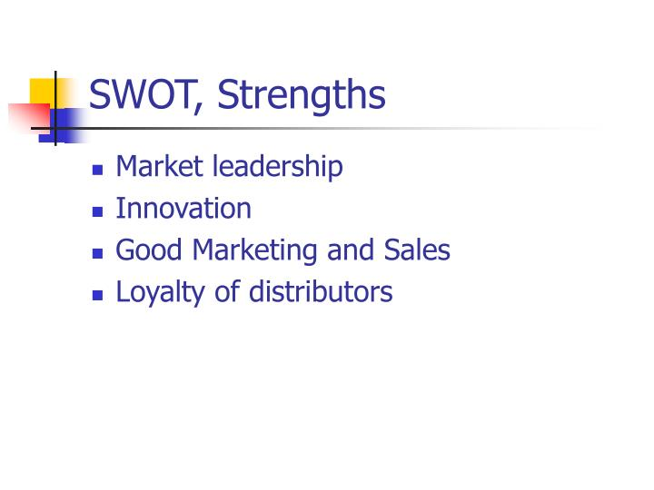 SWOT, Strengths