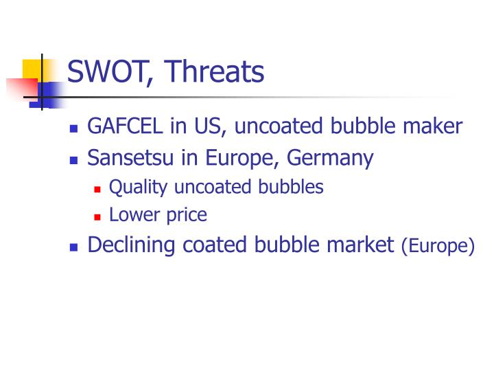 SWOT, Threats