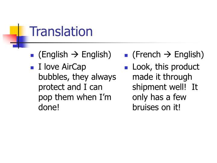 (English