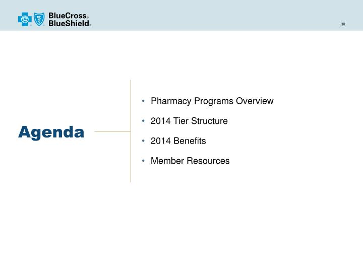 Pharmacy Programs Overview