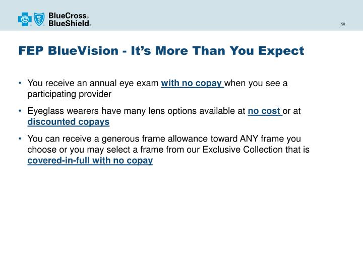 FEP BlueVision - It's More
