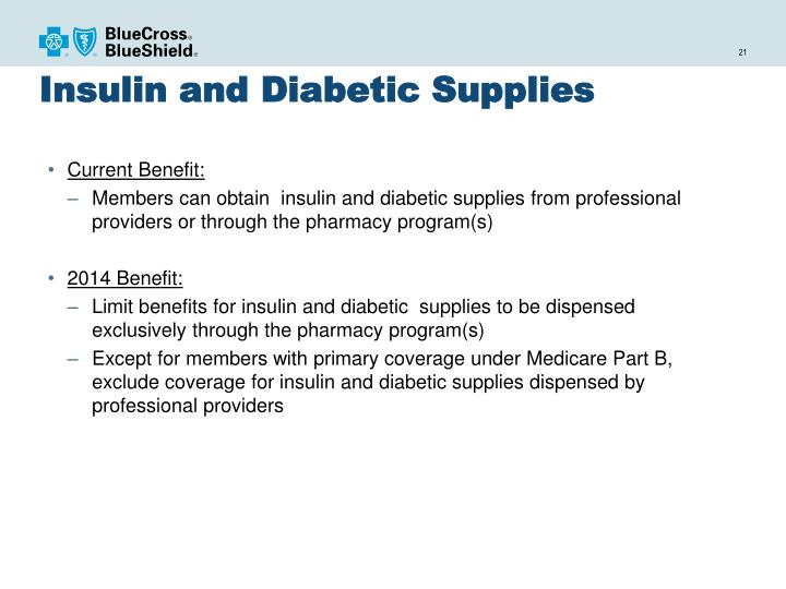 Insulin and Diabetic Supplies