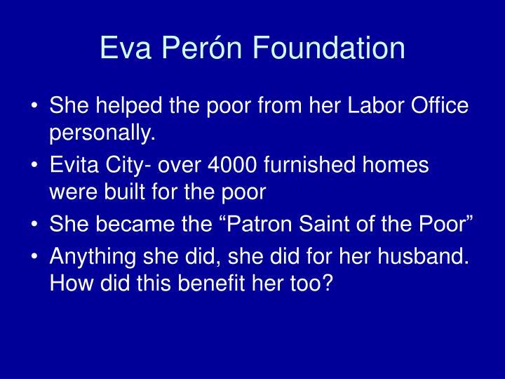 Eva Perón Foundation