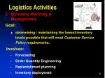 logistics activities1