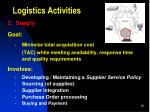 logistics activities2