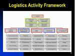 logistics activity framework