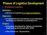 phases of logistics development1